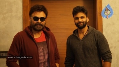 Venkatesh Launched Jai Sena Trailer - 10 of 21