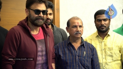 Venkatesh Launched Jai Sena Trailer - 11 of 21