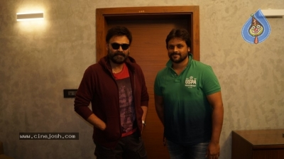 Venkatesh Launched Jai Sena Trailer - 12 of 21