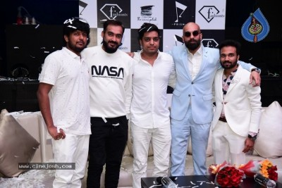 Allu Arjun at Fashion TV and Prism Club White Night Party