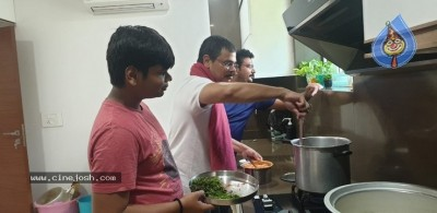 Boyapati Cooking For Family PIcs