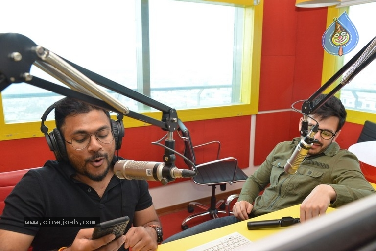 Akhil Akkineni at Radio Mirchi - 9 / 17 photos