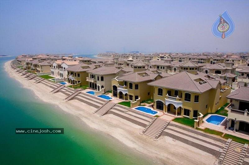 Amazing Palm Beach Houses In Dubai 8 10 Photos