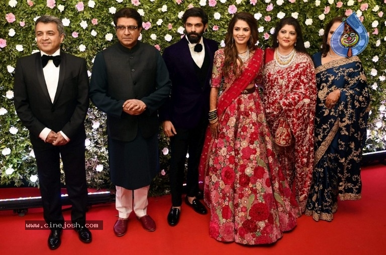 Amit Thackeray Wedding Reception Photos - 11 / 35 photos