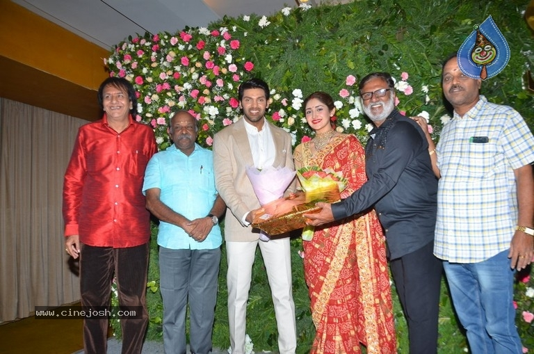 Arya and Sayesha Reception Photos - 3 / 21 photos