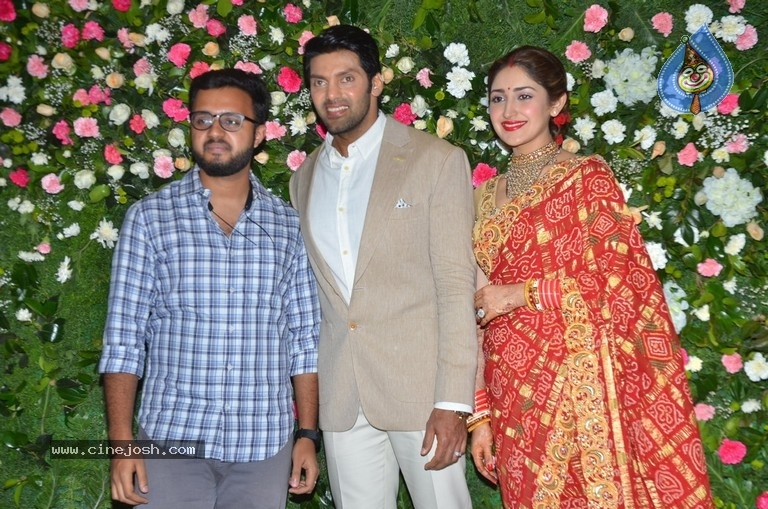 Arya and Sayesha Reception Photos - 12 / 21 photos
