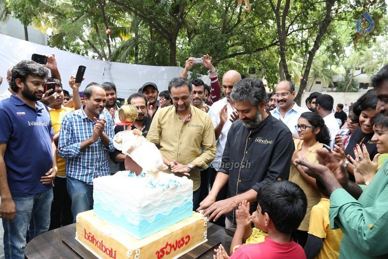 Baahubali Team Success celebrations Photos - 10 / 106 photos