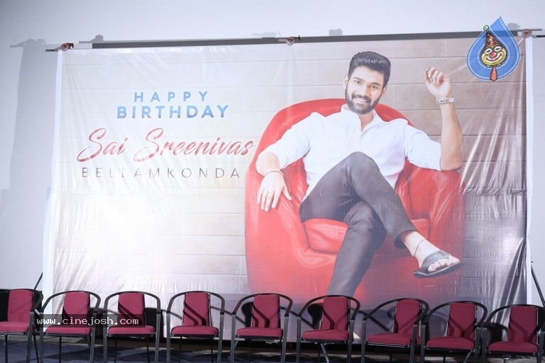 Bellamkonda Srinivas Birthday Celebrations 2019 - 23 / 37 photos