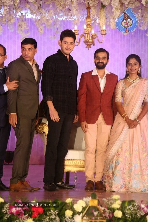 Celebrities at Harshit Reddy Wedding Reception - 2 / 65 photos