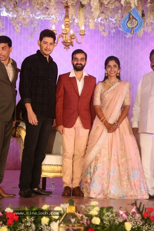 Celebrities at Harshit Reddy Wedding Reception - 16 / 65 photos