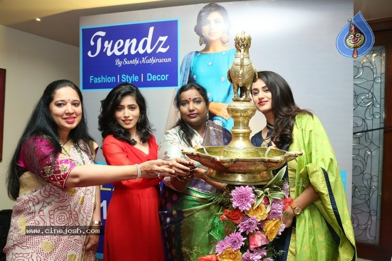 Celebs Inaugurated Trendz Expo - 16 / 20 photos
