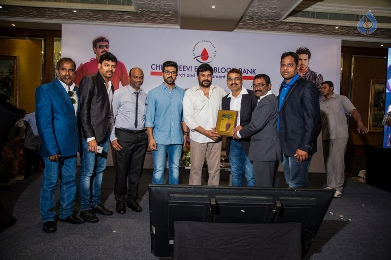 Chiranjeevi and Ram Charan Thanked The Blood Donors - 10 / 21 photos