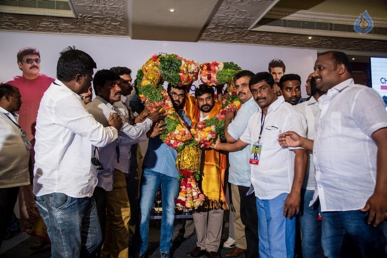 Chiranjeevi and Ram Charan Thanked The Blood Donors - 14 / 21 photos