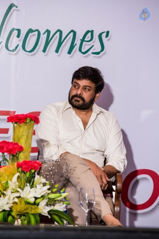 Chiranjeevi and Ram Charan Thanked The Blood Donors - 17 / 21 photos