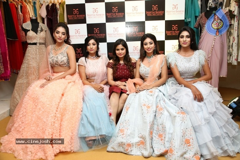 Deepthi Ganesh Winter Collection 2019 Launch - 17 / 21 photos