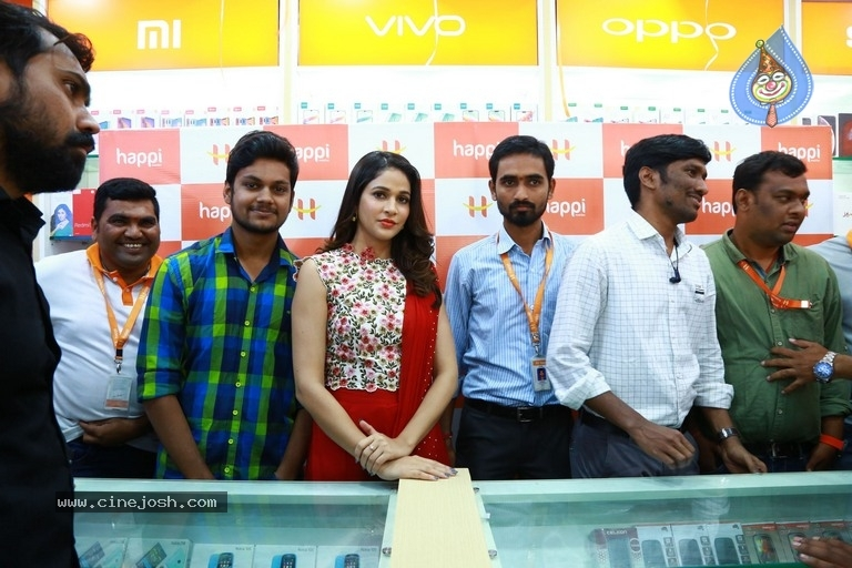 Happi Mobiles Grand Store Launched By Actress Lavanya Tripathi - 3 / 20 photos