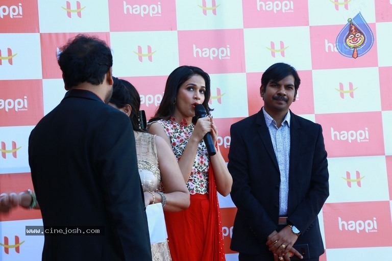 Happi Mobiles Grand Store Launched By Actress Lavanya Tripathi - 20 / 20 photos