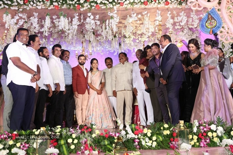 Harshith Reddy - Gowthami Wedding Reception - 19 / 40 photos