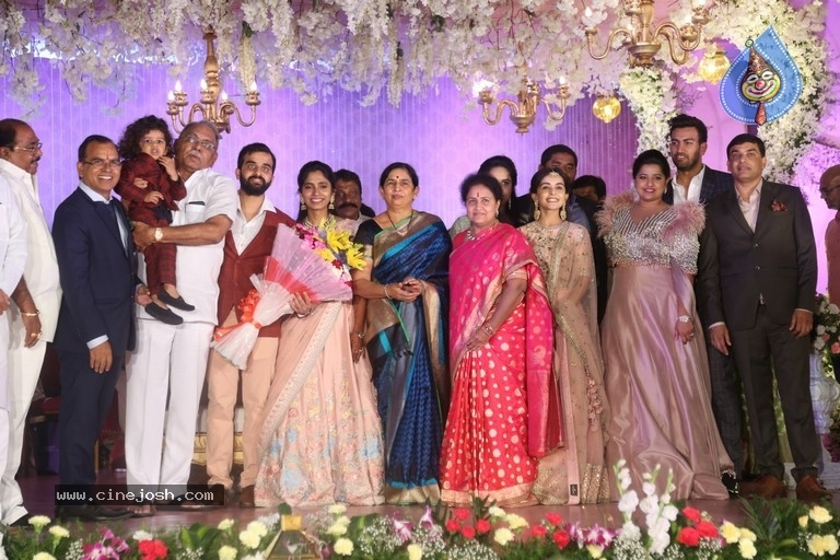Harshith Reddy - Gowthami Wedding Reception - 20 / 40 photos