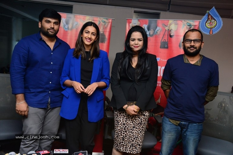 Madhouse Web Series Press Meet - 3 / 8 photos