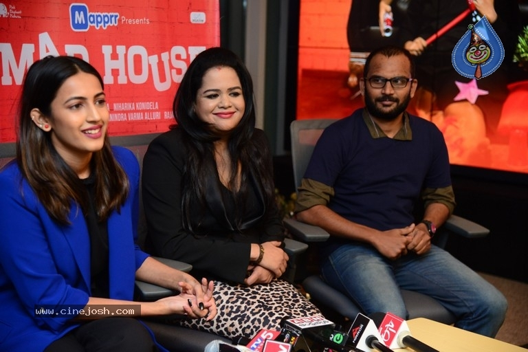 Madhouse Web Series Press Meet - 6 / 8 photos