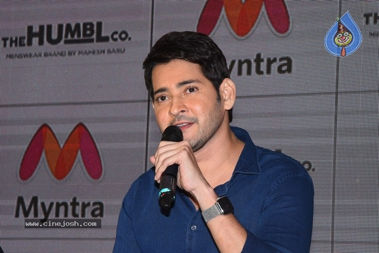 Mahesh Babu Launches His Brand The Humbl co On Myntra - 7 / 29 photos