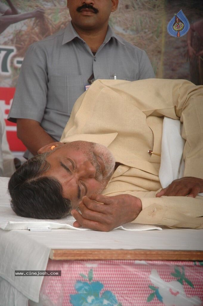 NTR and Political Leaders at Chandrababu Indefinite Fast - 5 / 74 photos