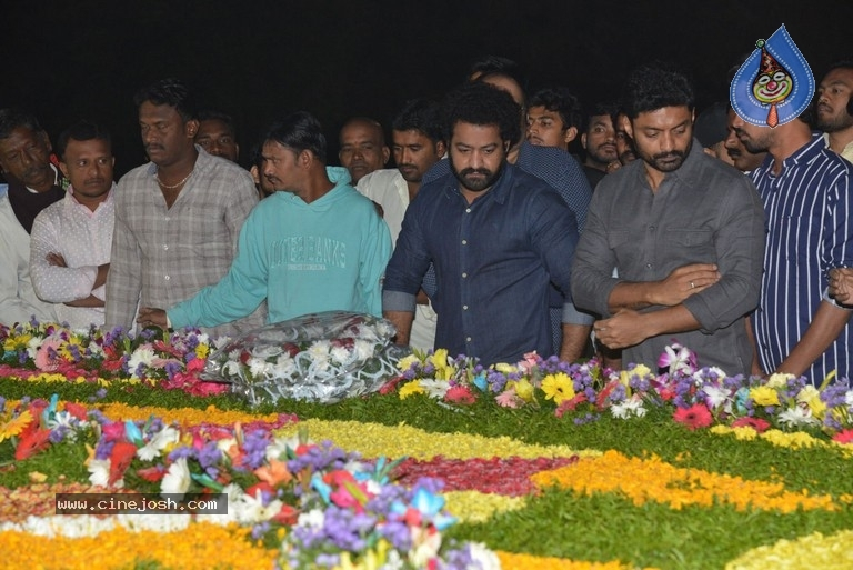 NTR Family Members at NTR Ghat - 4 / 39 photos