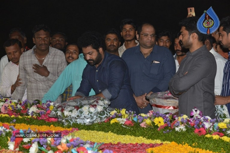NTR Family Members at NTR Ghat - 5 / 39 photos