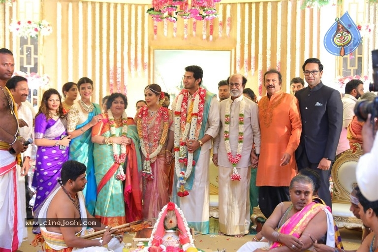 Rajinikanth Daughter Soundarya Wedding Photos - 6 / 15 photos