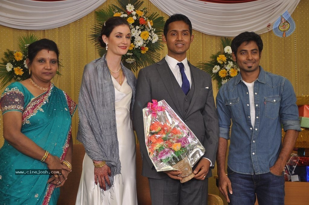 Reporter Anupama Subramanian Son Wedding Reception  - 22 / 107 photos