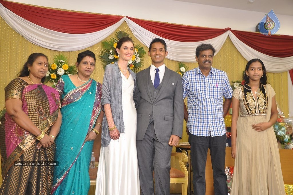 Reporter Anupama Subramanian Son Wedding Reception  - 28 / 107 photos