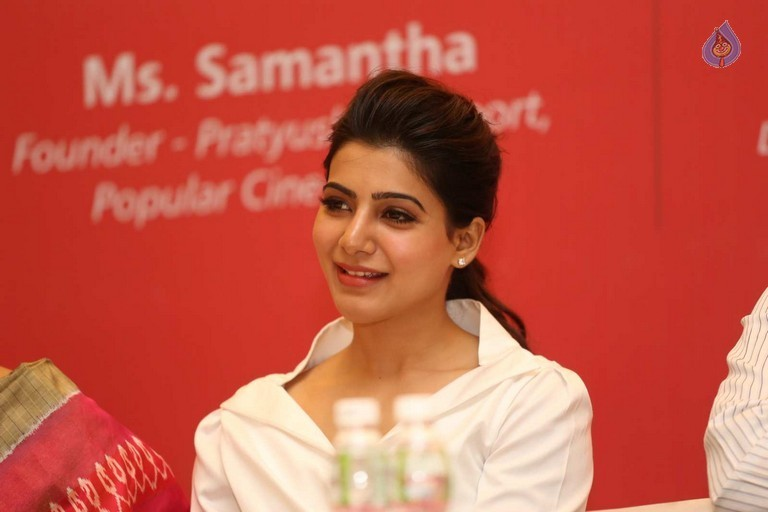 Samantha at Maxcure Hospitals Organs Donation Event - 3 / 53 photos
