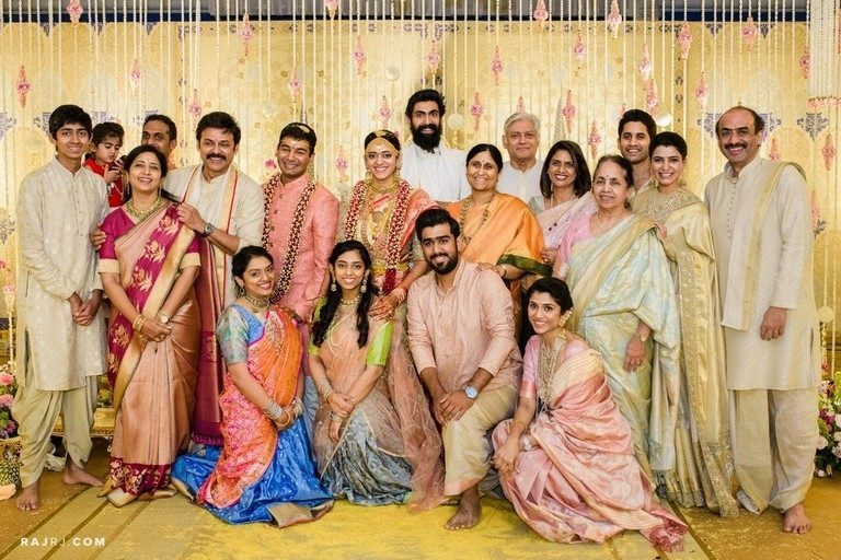Venkatesh Daughter Ashritha Wedding - 2 / 3 photos