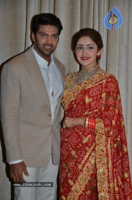 Arya and Sayesha Reception Photos - 5 of 21