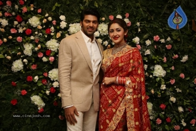 Arya and Sayesha Reception Photos - 7 of 21