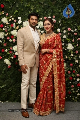 Arya and Sayesha Reception Photos - 8 of 21