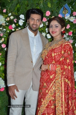 Arya and Sayesha Reception Photos - 9 of 21