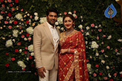 Arya and Sayesha Reception Photos - 11 of 21
