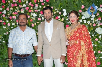 Arya and Sayesha Reception Photos - 14 of 21