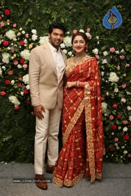 Arya and Sayesha Reception Photos - 15 of 21