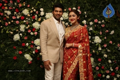 Arya and Sayesha Reception Photos - 17 of 21