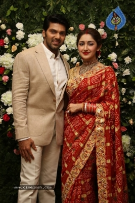 Arya and Sayesha Reception Photos - 18 of 21