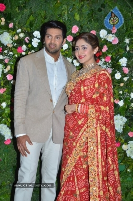 Arya and Sayesha Reception Photos - 20 of 21