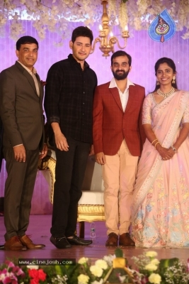 Celebrities at Harshit Reddy Wedding Reception - 24 of 65