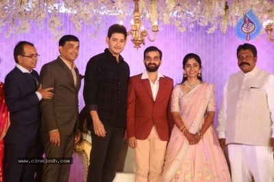 Celebrities at Harshit Reddy Wedding Reception - 26 of 65
