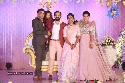 Celebrities at Harshit Reddy Wedding Reception - 29 of 65