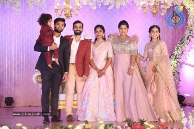 Celebrities at Harshit Reddy Wedding Reception - 31 of 65