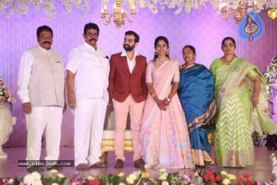 Celebrities at Harshit Reddy Wedding Reception - 33 of 65