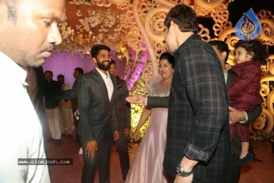 Celebrities at Harshit Reddy Wedding Reception - 34 of 65